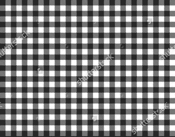 Black and White Check Patterns