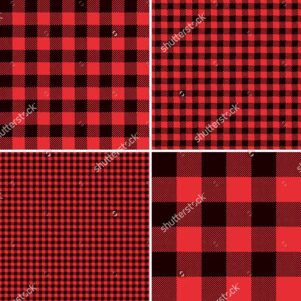 Red Check Patterns