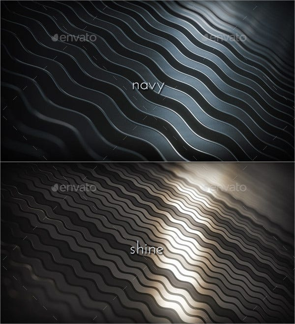Metal Waves Patterns