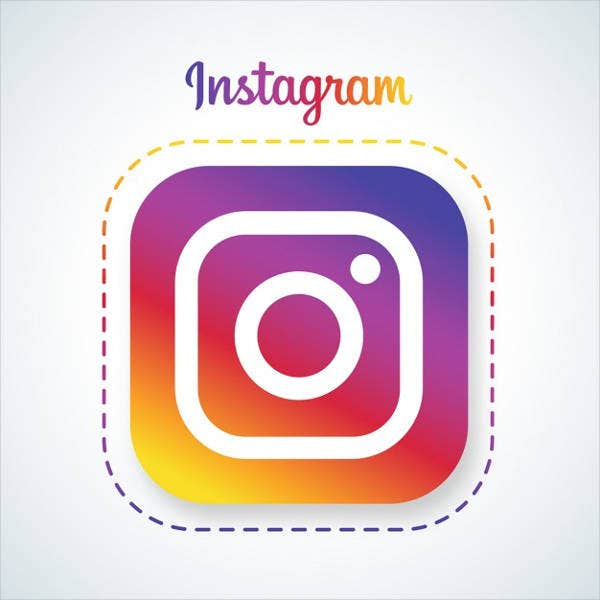 round-instagram-icon