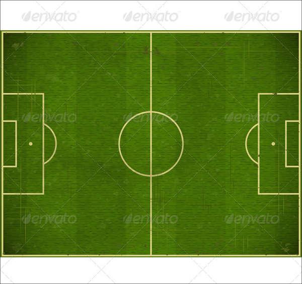 football filed vector
