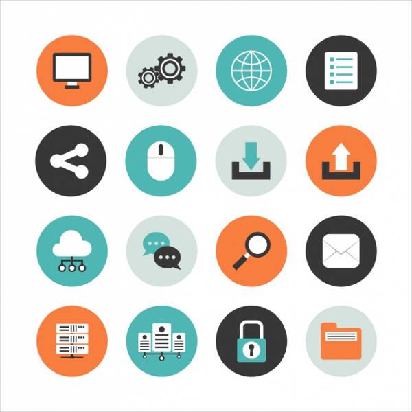 round folder icon