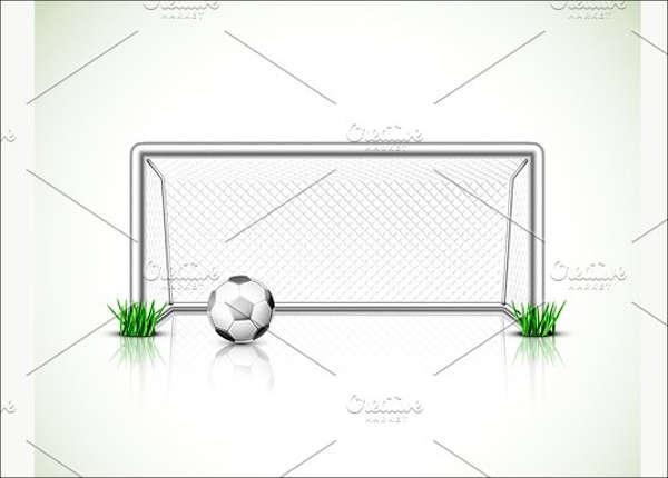 football-goal-vector