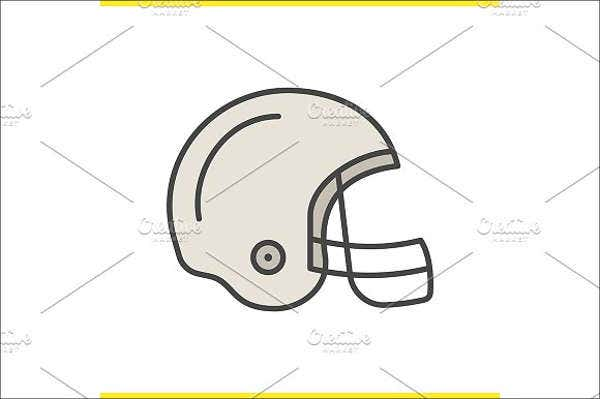 football-helmet-vector