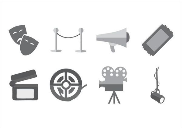 Movie Theatre Icon
