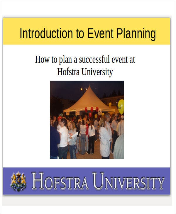 Corporate event planner & caterer powerpoint presentation template.