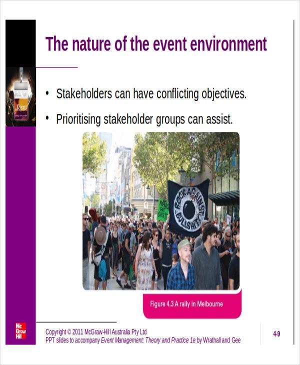 event concept presentation template
