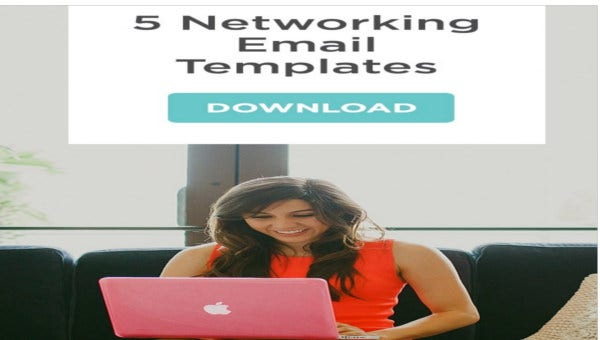 networking email templates