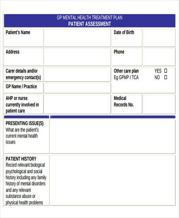 Health Care Plan Templates - 8+ Free Word, Pdf Format Download
