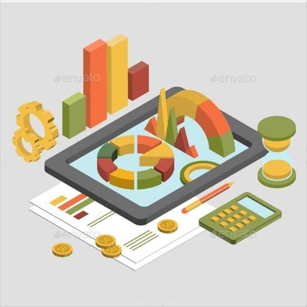 3d-finance-vector