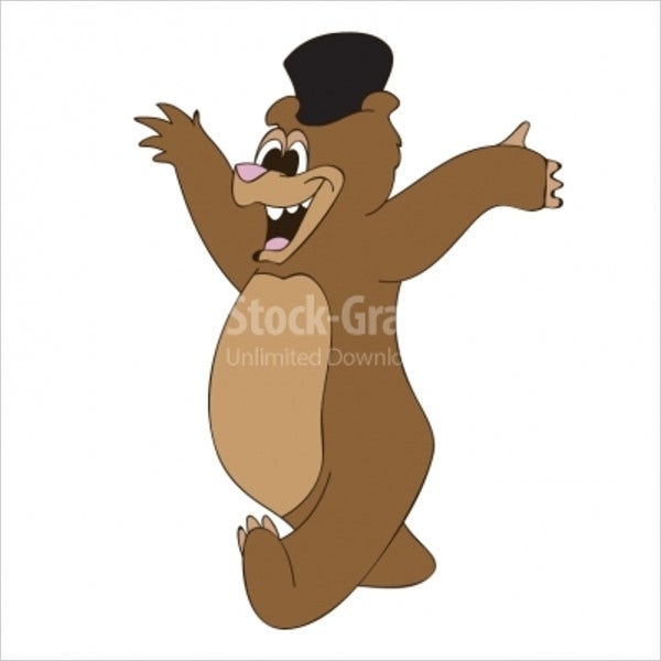 Dancing Bear Illustration