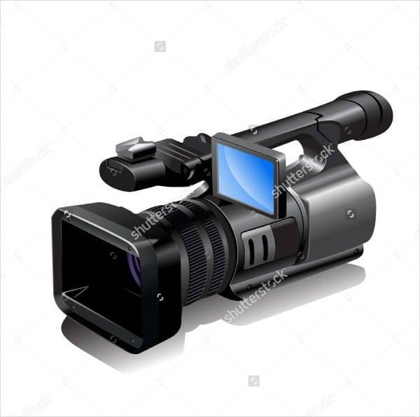 video camera vector