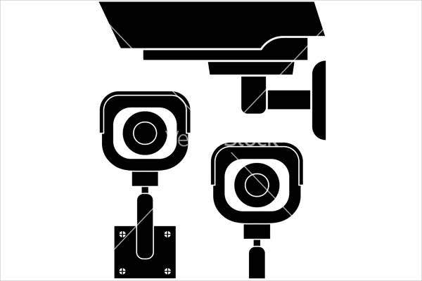security-camera-vector