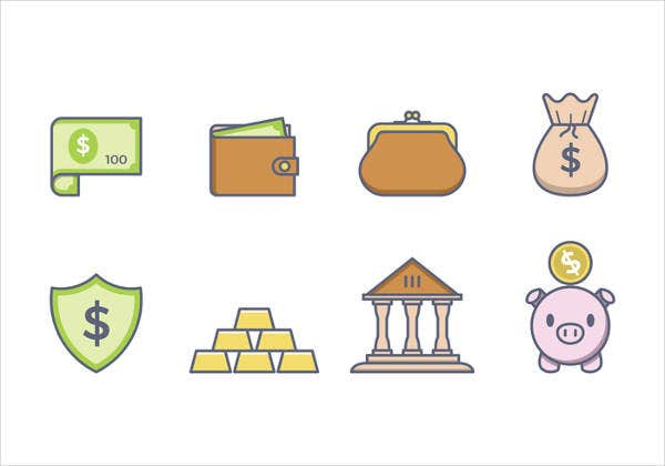 finance and money vector