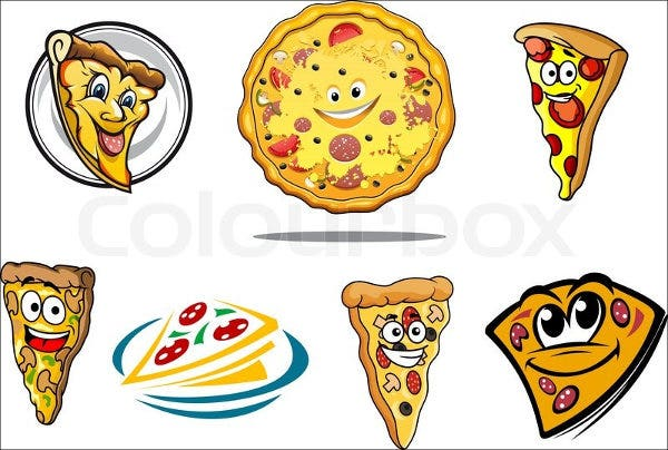 cartoon-pizza-vector