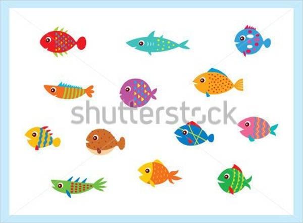 flat-fish-vector