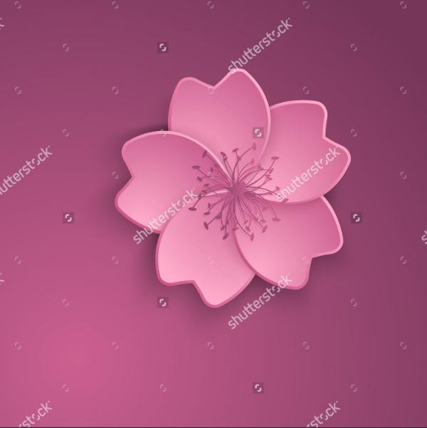 sakura flower illustration