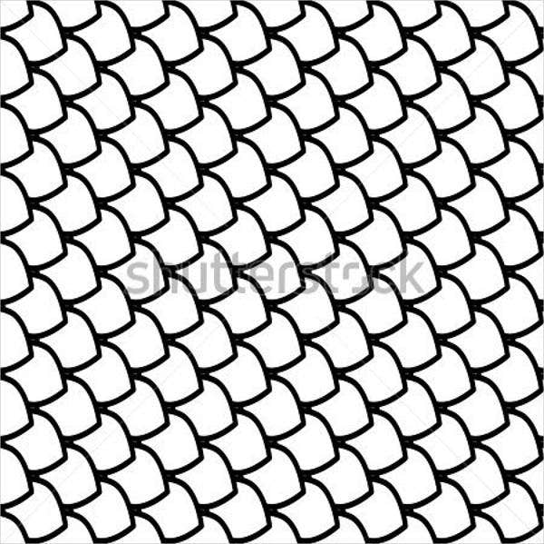 fish scale vector