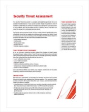 security-threat-assessment-template