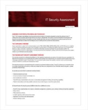 it-security-assessment-template