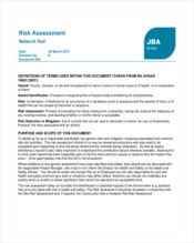 network-rail-risk-assessment-template