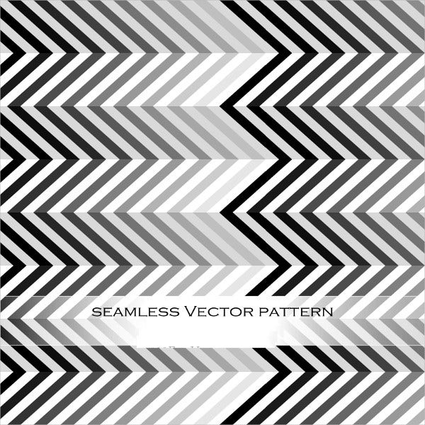 Black and White Chevron Patterns