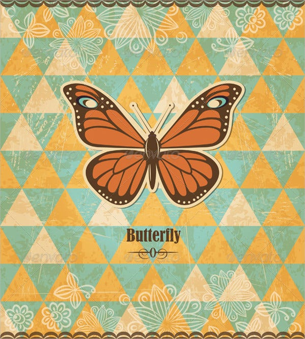 9 butterfly patterns psd vector eps png format for Designs for mosaics templates