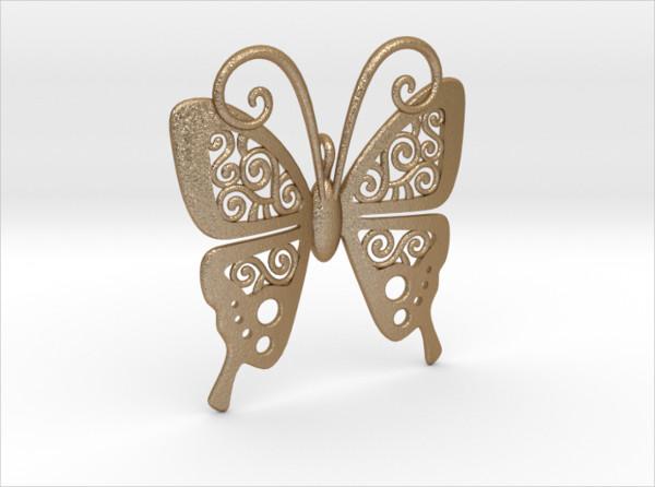 Butterfly Swirl Pattern