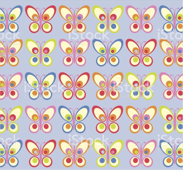 Funky Butterfly Pattern