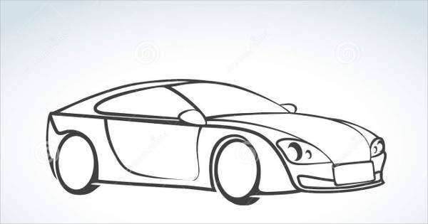 abstract car vector1