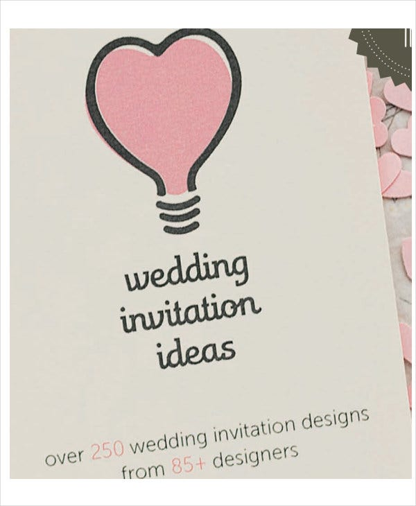wedding invitation presentation template