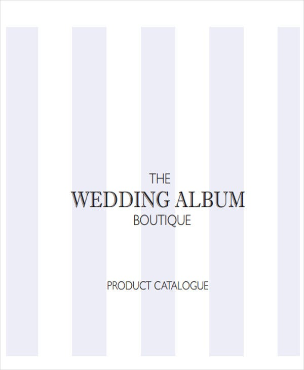 wedding album presentation template