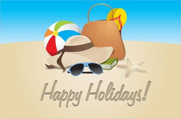 happy holiday icon