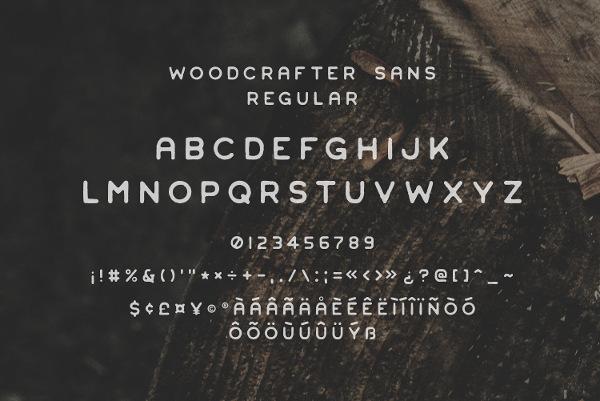 Vintage Stamp Font