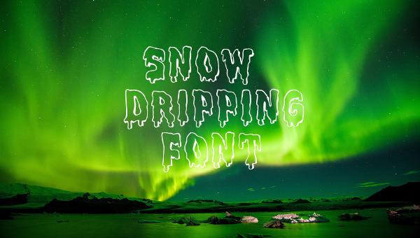 snowfont1