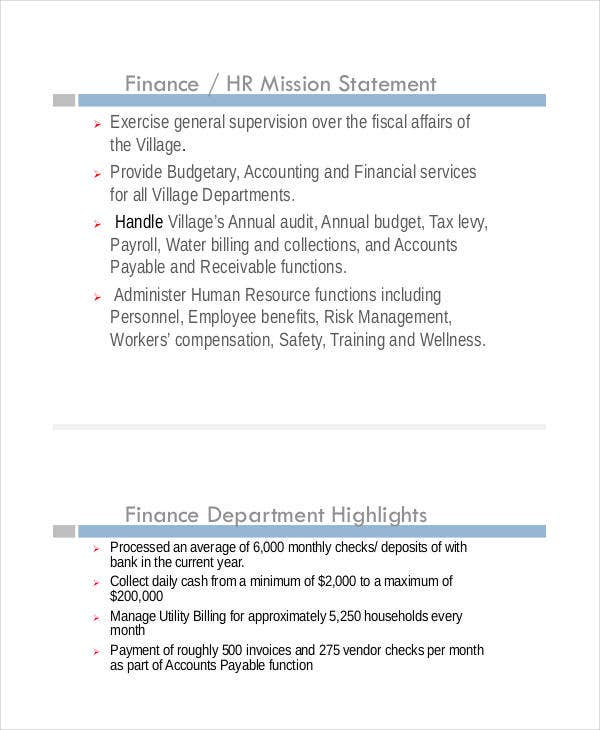 Financial Presentation Templates   Free Excel Pdf Documents