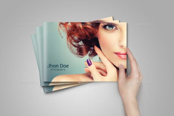 Fashion Photography Album Template