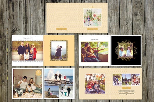 8 family album templates free psd eps ai format download free premium templates. Black Bedroom Furniture Sets. Home Design Ideas