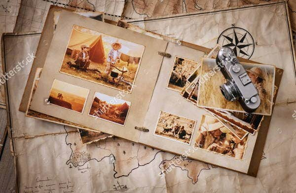 vintage-travel-album-template
