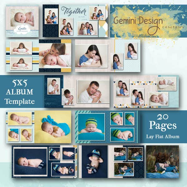 psd-family-album-template