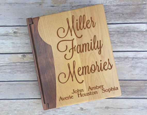 family-memories-album-template