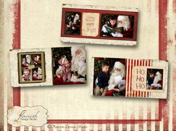 christmas-vintage-album-template