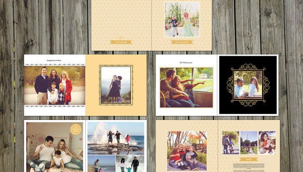 8 Family Album Templates Free Psd Eps Ai Format Download