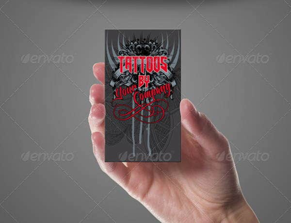 Tattoo shop business card template mycreativeshop 46 best tattoo tattoo business card templates free premium templates tattoo business card templates flashek
