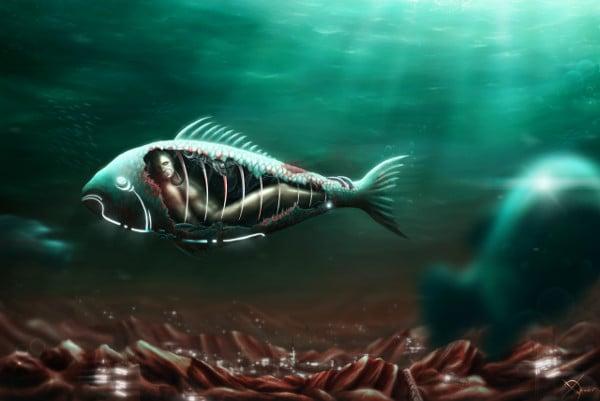 Underwater Fantasy Painting