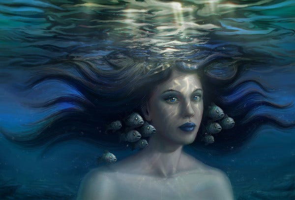 Digital Underwater Painting