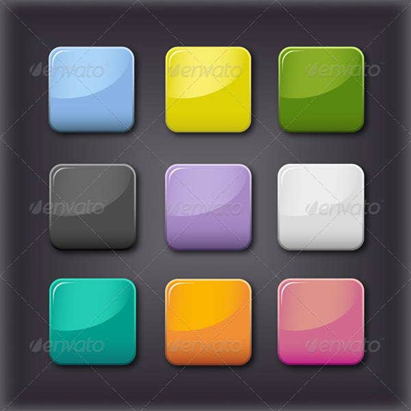 vector-glass-square-button