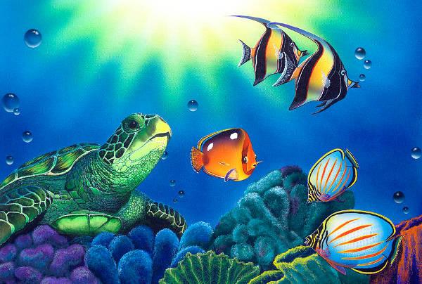 Underwater Life Painting