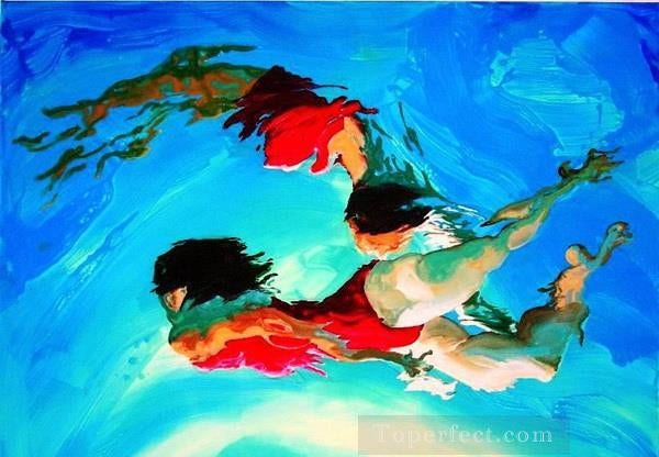 Underwater Oil Painting