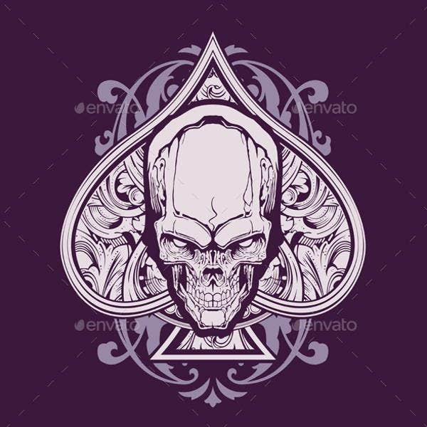 skull-and-love-illustration